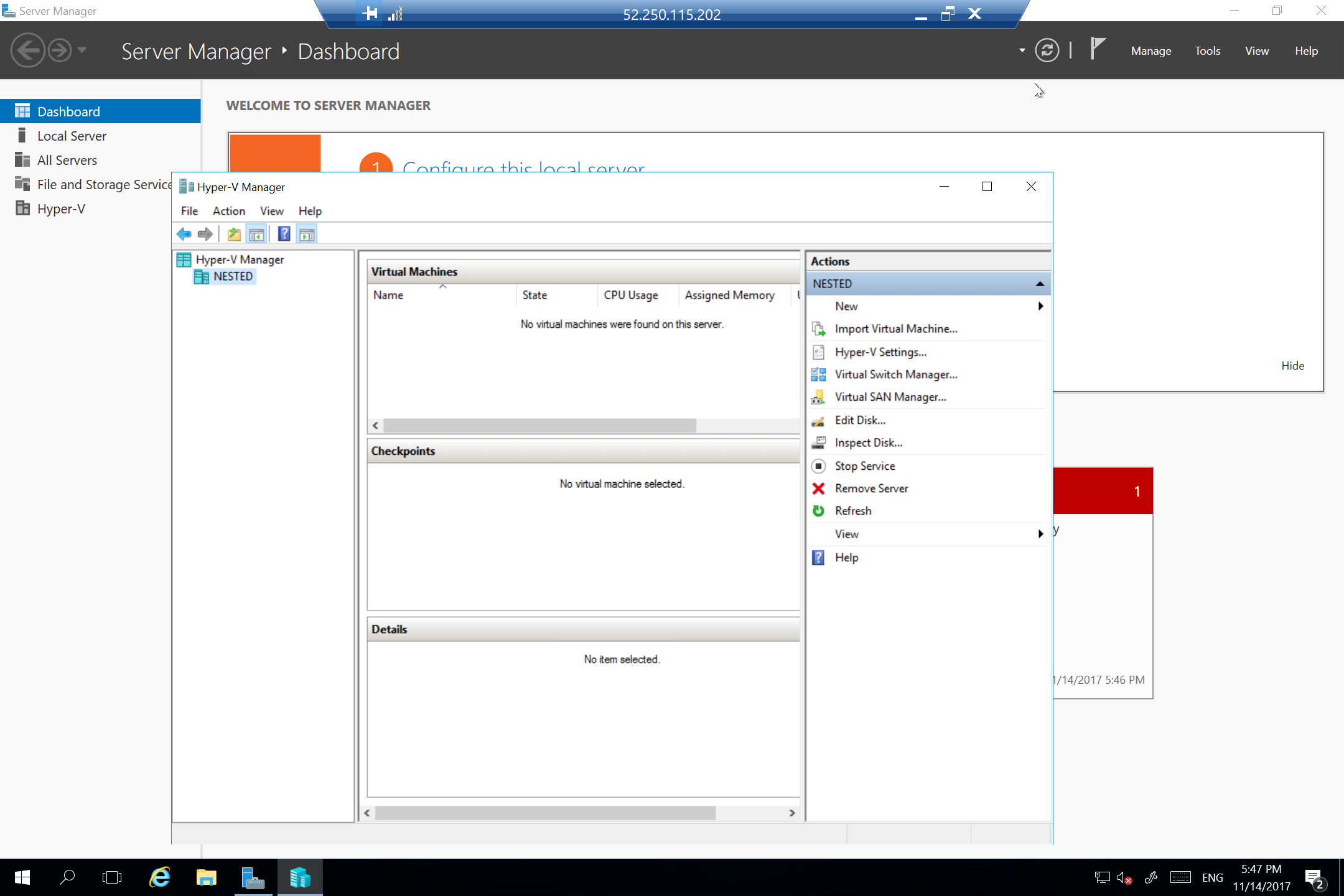 How To Setup Nested Virtualization In Microsoft Azure