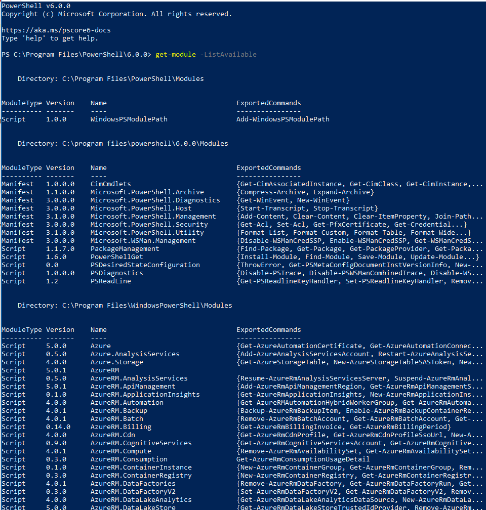 How to Install PowerShell Core v6 0 on Windows and Run