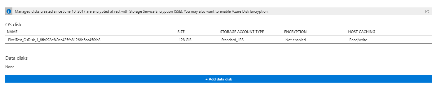 Encrypt an Azure Virtual Machine with using Key Encryption