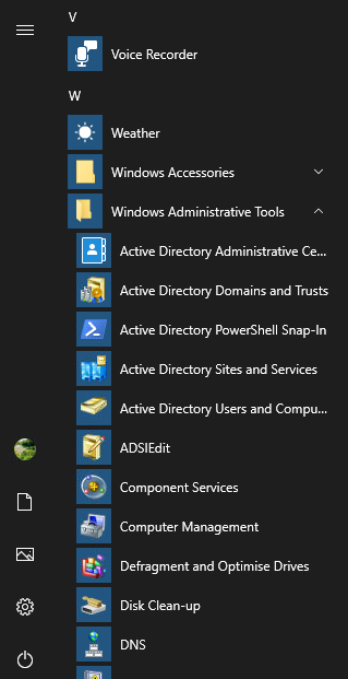 Updated: Windows 10 Remote Server Administration Tools (RSAT) On