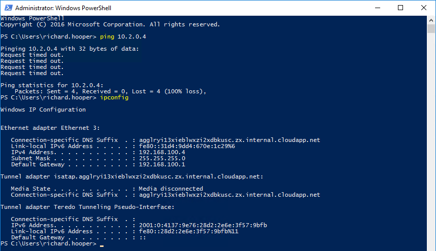 Step by Step guide on setting up Azure vNet Peering - Pixel