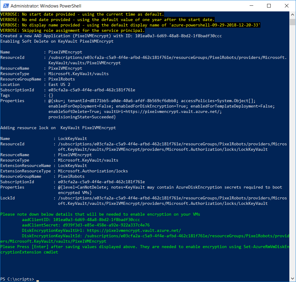 The New and Improved way to Encrypt an Azure VM running