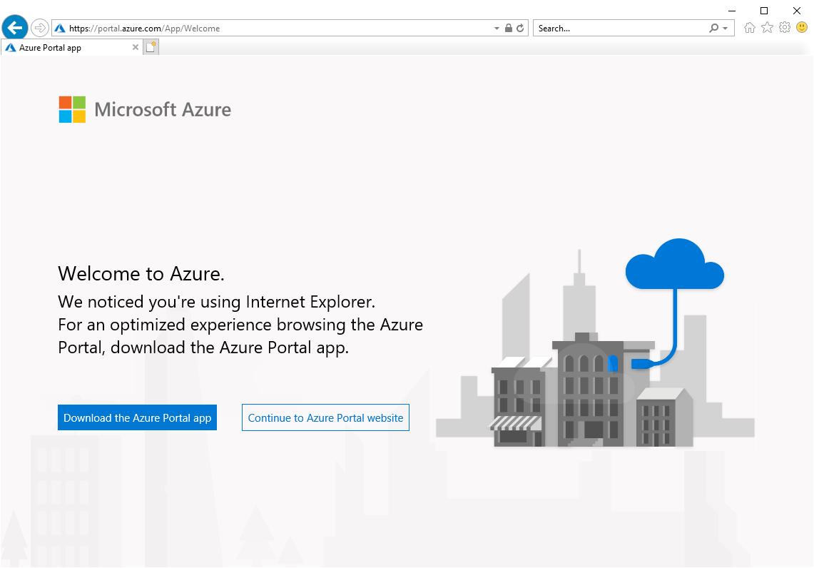 download azure portal desktop app