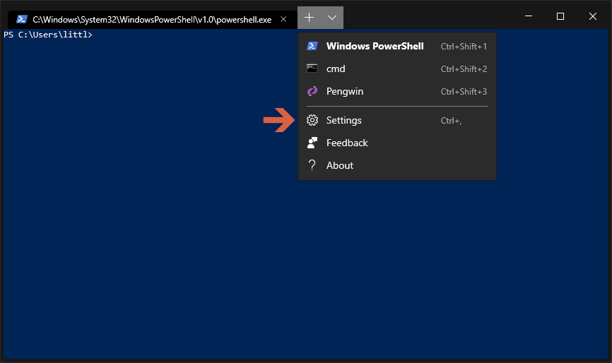 How to add the Azure Cloud Shell to the New Windows Terminal